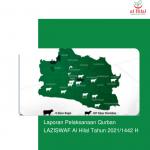 Laporan Pelaksanaan Qurban LAZISWAF Al Hilal Tahun 2021/1442 H