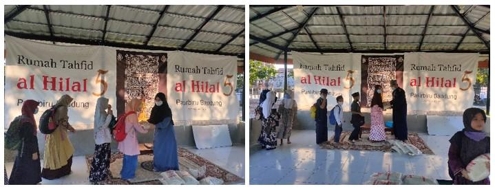 Penyaluran Beras Untuk Rumah Tahfidz Cibiru dan Pasirbiru 2
