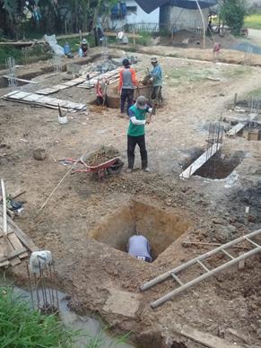 Perkembangan Pembangunan Gedung Asrama Impian Santri Yatim dan Penghafal Al Quran Pesantren Al Hilal 1 Cililin 1