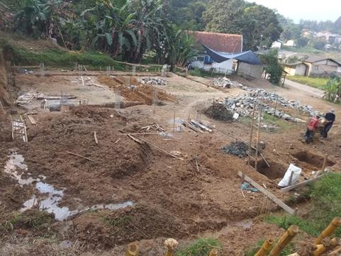 Sedikit Demi Sedikit, Pembangunan Gedung Asrama Santri Yatim dan Penghafal Quran Pesantren Al Hilal Terus Menunjukkan Progresnya 1
