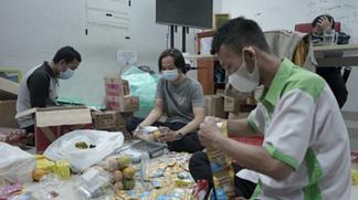 Pembagian Paket Gizi, Salah Satu Ikhtiar LAZISWAF Al Hilal Untuk Menjaga Imun Santri 2