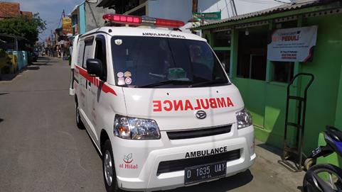 Ambulance Gratis Khusus Pasien Covid-19 Telah Beroperasi 1