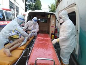 Ambulance Gratis Khusus Pasien Covid-19 Telah Beroperasi 2