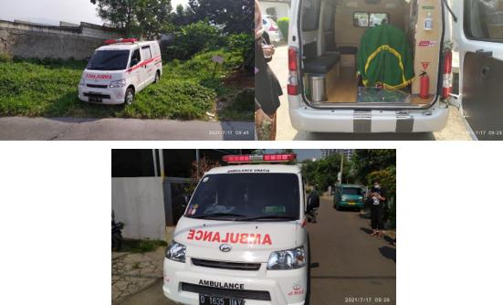 Ketua Harian Yayasan Al Hilal Terjun Langsung Untuk Mengoperasikan Mobil Ambulance Gratis LAZISWAF Al Hilal 3