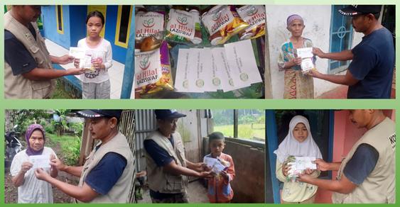 Walaupun Hujan Cukup Deras, Komunitas Al Hilal Tasikmalaya Selatan Tetap Bersemangat Menyalurkan Bantuan Untuk Anak Yatim dan Dhuafa 1