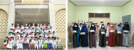 Peduli Gizi Laziswaf Al Hilal Berbagi Paket Gizi Untuk Santri Dari Donatur 1