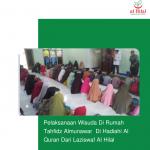 Pelaksanaan Wisuda Di Rumah Tahfidz Almunawar  Di Hadiahi Al Quran Dari Laziswaf Al Hilal