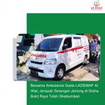 Bersama Ambulance Gratis LAZISWAF Al Hilal, Jenazah Serangan Jantung di Graha Bukit Raya Telah Dikebumikan