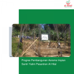 Progres Pembangunan Asrama Impian Santri Yatim Pesantren Al Hilal