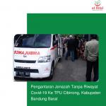 Pengantaran Jenazah Tanpa Riwayat Covid-19 Ke TPU Cibinong, Kabupaten Bandung Barat
