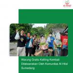 Warung Gratis Keliling Kembali Dilaksanakan Oleh Komunitas Al Hilal Sumedang