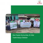 Aksi Nyata Komunitas Al Hilal Tasikmalaya Selatan