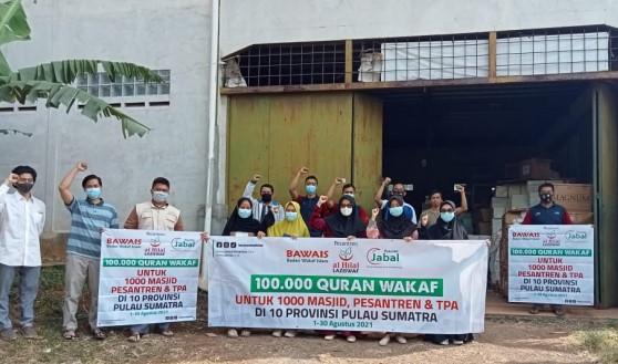 Ratusan Lembaga Telah Menerima Al Quran Serta Buku Islam Dalam Program Sebar Quran Indonesia 1