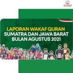 Laporan SWQ Sumatra Dan Jawa Barat (Agustus 2021)