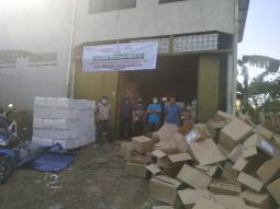 Sebanyak 200 Dus Al Quran Siap Dikirim Ke Pulau Sumatera 2