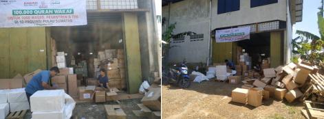 Sebanyak 200 Dus Al Quran Siap Dikirim Ke Pulau Sumatera 3