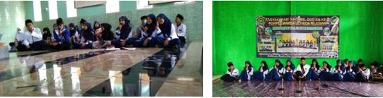 Pembagian Wakaf Al-Quran Sekaligus Peresmian Pembangunan Gedung Pertama Pesantren Mambaul Huda, Sumatra Selatan 2