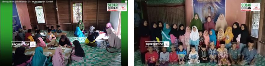 Penyaluran Wakaf Quran Laziswaf Al Hilal Kerja Sama Dengan Komunitas Dai Muda Idaman, Sumatra Selatan 2