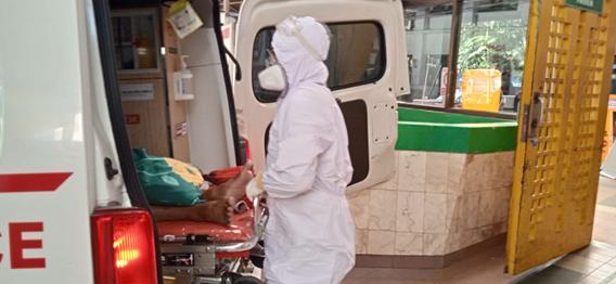 Ambulance Gratis Khusus Covid-19 LAZISWAF Al Hilal Kembali Evakuasi Pasien Ke RS Hasan Sadikin Bandung 1