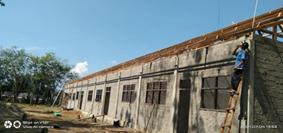 Pembagian Wakaf Al-Quran Sekaligus Peresmian Pembangunan Gedung Pertama Pesantren Mambaul Huda, Sumatra Selatan 3