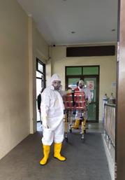 Ambulance Gratis Khusus Covid-19 LAZISWAF Al Hilal Kembali Evakuasi Pasien Ke RS Hasan Sadikin Bandung 2