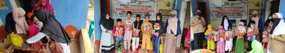 Tebar Kebaikan Bersama Komunitas Al Hilal Cicalengka Di Tahun Baru Islam 1443 H 3
