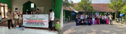 Tebar Kebaikan Bersama Komunitas Al Hilal Cicalengka Di Tahun Baru Islam 1443 H 4