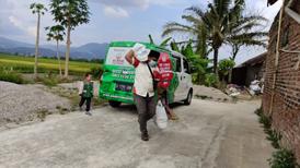 Bingkisan Paket Lebaran Anak Yatim Telah Disalurkan Di Wilayah Binaan Komunitas Al Hilal Cicalengka 2