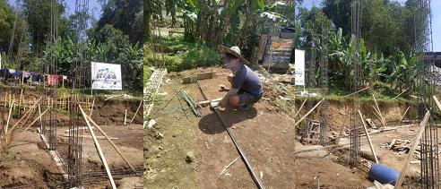 Update Pembangunan Asrama Impian Santri Yatim Pesantren Al Hilal 1