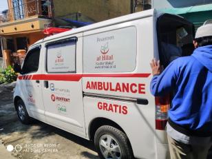 Bersama Ambulance Gratis LAZISWAF Al Hilal, Jenazah Serangan Jantung di Graha Bukit Raya Telah Dikebumikan 5