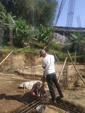 Progres Pembangunan Asrama Impian Santri Yatim Pesantren Al Hilal 2