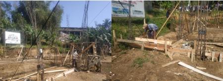 Progres Pembangunan Asrama Impian Santri Yatim Pesantren Al Hilal 3