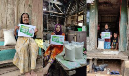 Pembagian Sedekah Beras Untuk Dhuafa Di Kabupaten Tasikmalaya Bersama Komunitas Al Hilal Tasikmaya 1