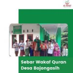 Sebar Wakaf Quran untuk Santri Tahfidz Desa Bojongasih