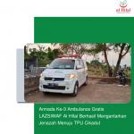 Armada Ke-3 Ambulance Gratis LAZISWAF Al HIlal Berhasil Mengantarkan Jenazah Menuju TPU Cikadut