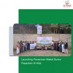 Launching Peresmian Wakaf Sumur Pesantren Al Hilal