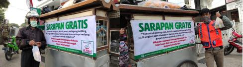 Membantu Pedagang Sepi Pengunjung, LAZISWAF Al Hilal Siap Luncurkan Program Sarapan Gratis Setiap Pekan 3