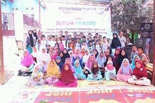 Dalam Program Sebar Quran Sumatera, Yayasan Rumah Surga Berhasil Menyalurkan Al Quran Untuk Santri/Santriwati di Provinsi Jambi 3