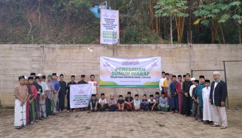 Launching Peresmian Wakaf Sumur Pesantren Al Hilal 1