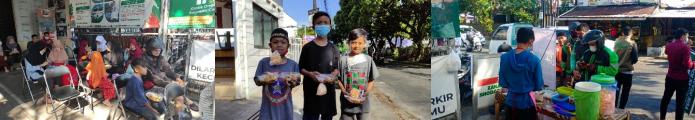 Berbagi Sarapan Gratis Di Masa Pandemi Covid-19 Kembali Dilakasanakan LAZISWAF Al Hilal 4