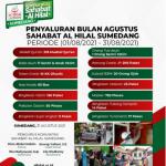 Berbagai Penyaluran di Wilayah Binaan Komunitas Sahabat Al Hilal Sumedang Periode Agustus 2021