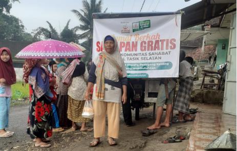Jumat Berkah Sarapan Gratis Komunitas Sahabat Al Hilal Tasikmalaya Selatan Pertama Sukses Diselenggarakan! 14