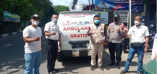 Apresiasi Warga Kecamatan Cinambo Dan Aparat Setempat Terhadap Operasional Ambulance Gratis LAZISWAF Al Hilal 8