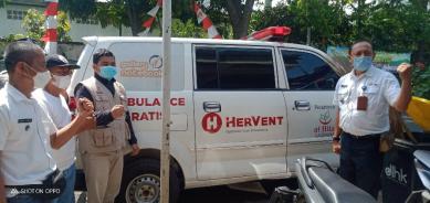 Apresiasi Warga Kecamatan Cinambo Dan Aparat Setempat Terhadap Operasional Ambulance Gratis LAZISWAF Al Hilal 10